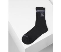 Sportliche Logo-Socken