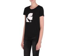 Ikonik T-Shirt mit Karls Kopf