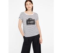 Rue Lagerfeld Streifen-T-Shirt