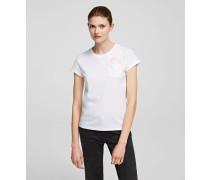 K/ikonik Peek-a-boo T-shirt mit Tasche