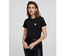 K/ikonik Choupette Sweatshirt mit 3d-aufnäher