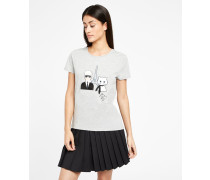 Karl & Choupette in Paris T-Shirt