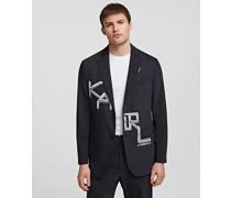 Couture-jacke mit Karl-print