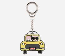 Schlüsselanhänger mit NYC-Taxi