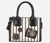 K/Klassik Mini Tote Bag mit Glitzer