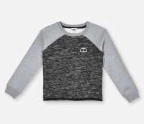 SWEATSHIRT AUS TWEED