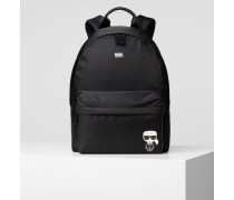 K/Ikonik Rucksack aus Nylon und Leder