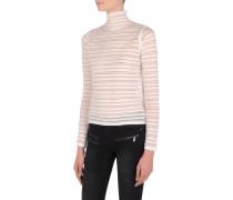 Gestreifter klassischer Pullover