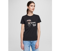 Ikonik T-shirt mit Strassbesatz