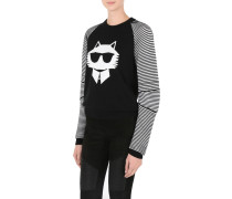 CHOUPETTE MESH-SWEATER