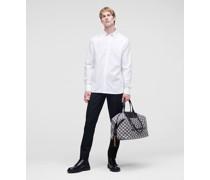 Kl Popeline-hemd mit Monogramm