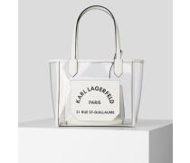 K/journey Kleine, Transparente Tote Bag