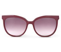 Sonnenbrille mit Silhouette von Karl