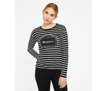 Langärmeliges Rue Lagerfeld T-Shirt