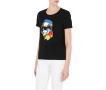 T-Shirt mit Karls Kopf