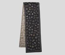 K/ikonik Langer Schal mit Print