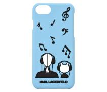 iPhone 7 Case mit geprägten Musiknoten