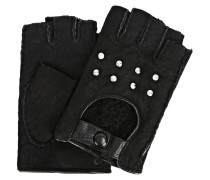 K/Shearling fingerlose Handschuhe