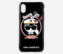 Karl Sailor TPU-Hülle schwarz für iPhone X