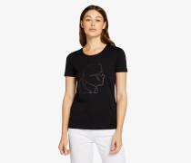 Ikonik Karl-T-Shirt mit Blitz