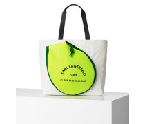 RUE ST-GUILLAUME TENNIS TOTE BAG