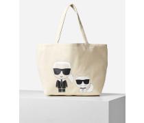 K/ikonik Karl & Choupette Tote Bag