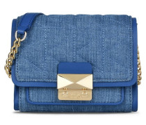K/KUILTED CROSSBODY BAG AUS DENIM