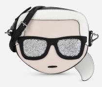 K/Ikonik Face Crossbody Bag