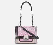 K/Kuilted Mini-Handtasche Rosa