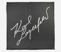 K/Signature gedrucktes Tuch