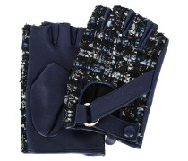 K/TWEED FINGERLOSE HANDSCHUHE