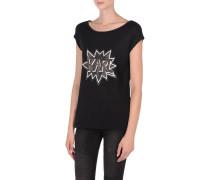 Karl Pop T-Shirt mit Verzierung