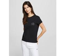 Rue St. Guillaume T-shirt mit Tasche