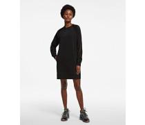Rue St-guillaume Sweatshirtkleid mit Mesh-ärmeln