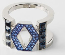 Icons Karl Double K Ring