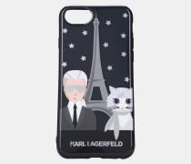 Choupette & Karl in Paris iPhone 7 Case