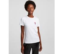 K/ikonik T-shirt mit 3d-aufnäher