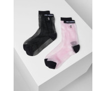 K/ikonik Glitzernde Socken Im 2er-pack
