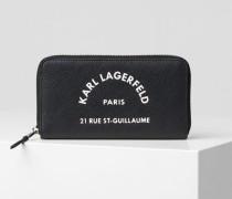 Rue St. Guillaume Brieftasche Im Kontinentalformat mit Reißverschluss