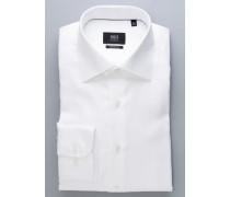 Comfort FIT Langarmhemd Premium weiss