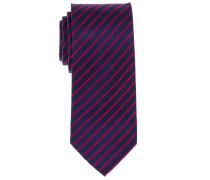 Krawatte Marineblau Gestreift