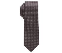 Krawatte Grün Gemustert