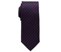 Krawatte Bordeaux Gestreift