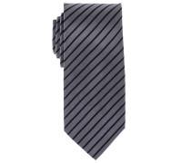 Krawatte Taupe Gestreift