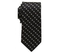 Krawatte schwarz/braun gemustert