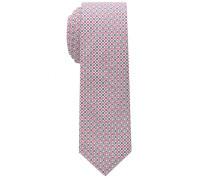 Krawatte Blau/rot Bedruckt