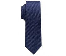 Krawatte Marineblau Strukturiert
