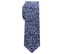 Krawatte Marine/jeansblau Bedruckt