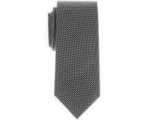 Krawatte Schwarz Kariert