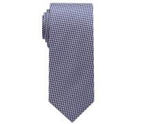 Krawatte Flieder/blau Kariert